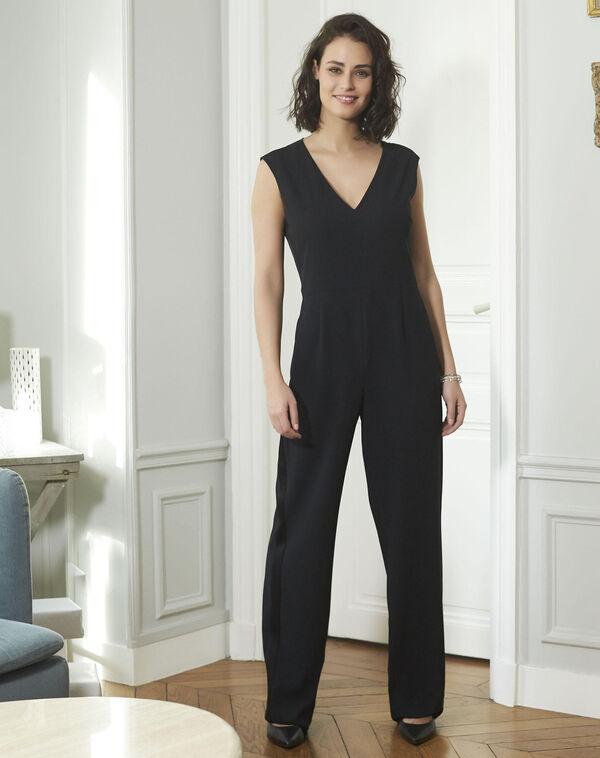 Zwarte jumpsuit Dorine (2) - 37653