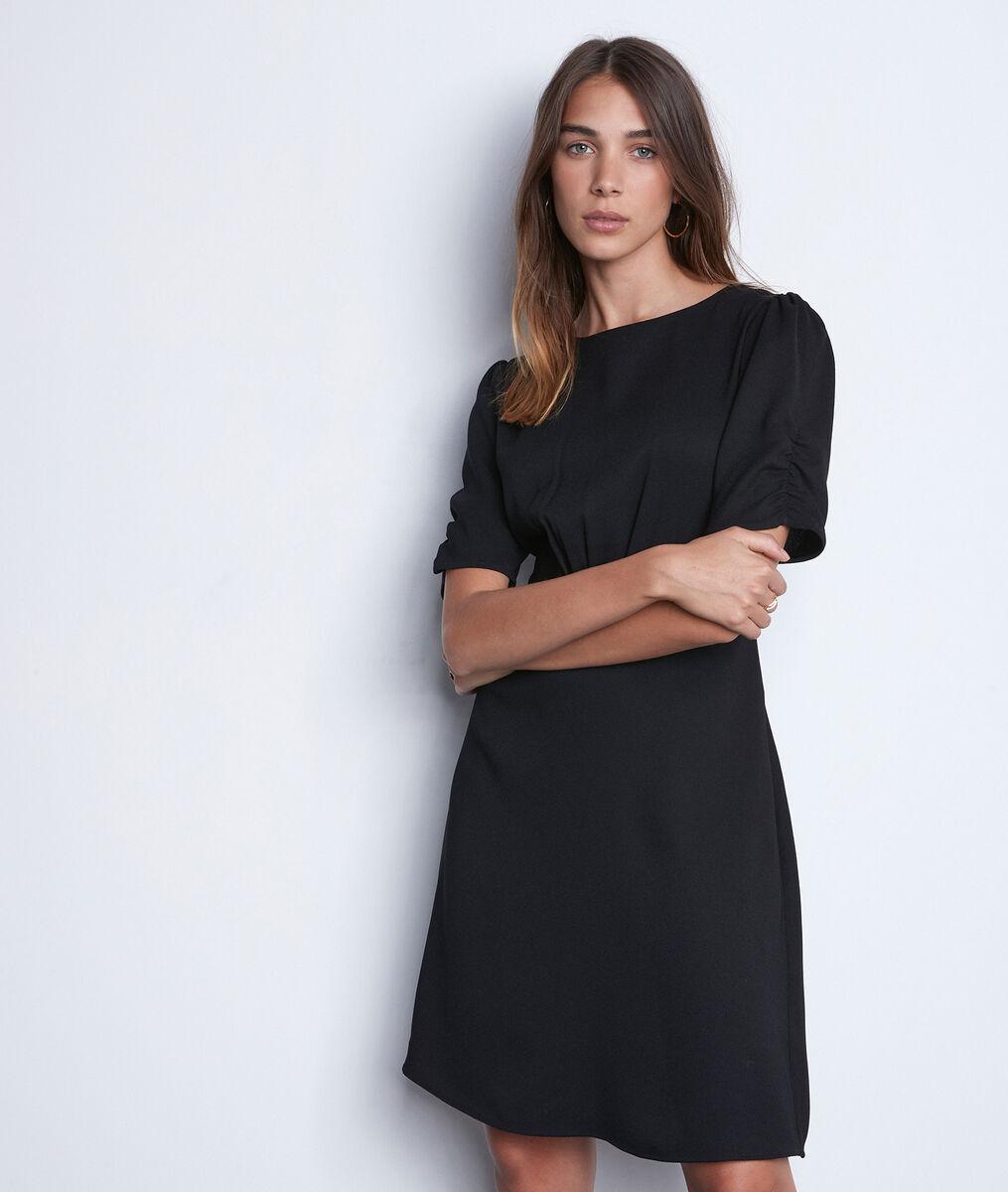 Petite robe noire courte Sally PhotoZ | 1-2-3