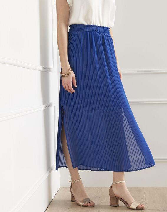 Jupe bleue plissée Sofia (1) - Maison 123