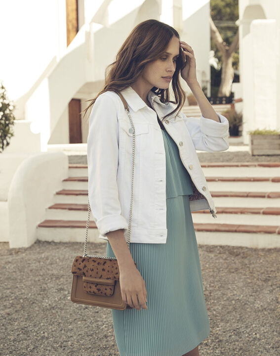 Veste en jean blanche Clem (1) - Maison 123