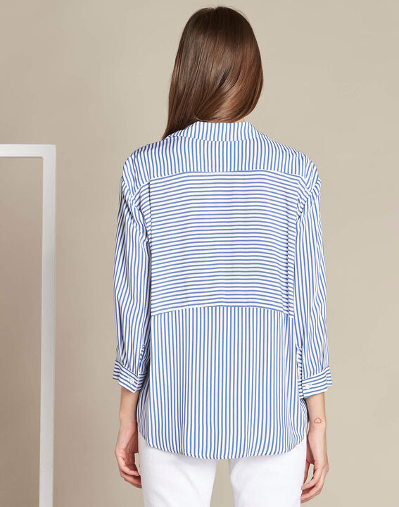 Darwin blue striped shirt (4) - 1-2-3