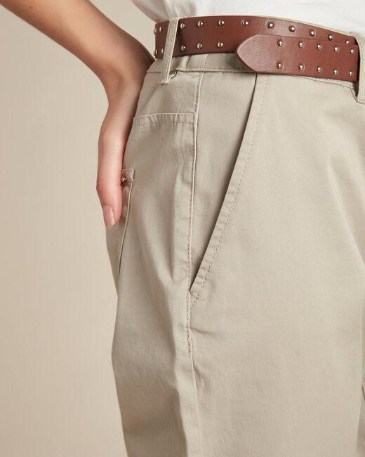 Francis slim-cut cotton trousers (1) - 1-2-3