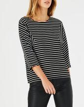 Boris navy blue striped t-shirt navy.