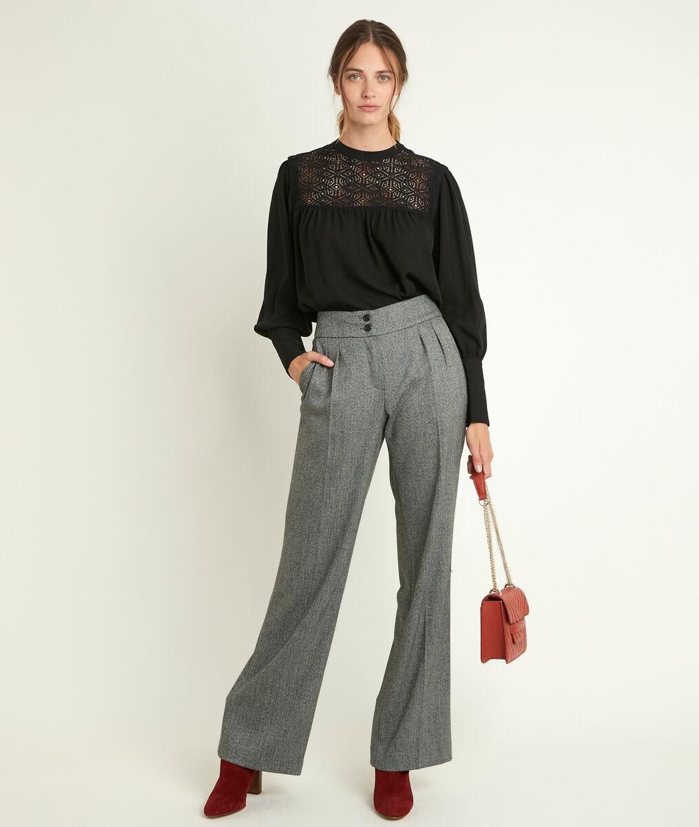 Pantalon large à chevrons Malo PhotoZ   1-2-3