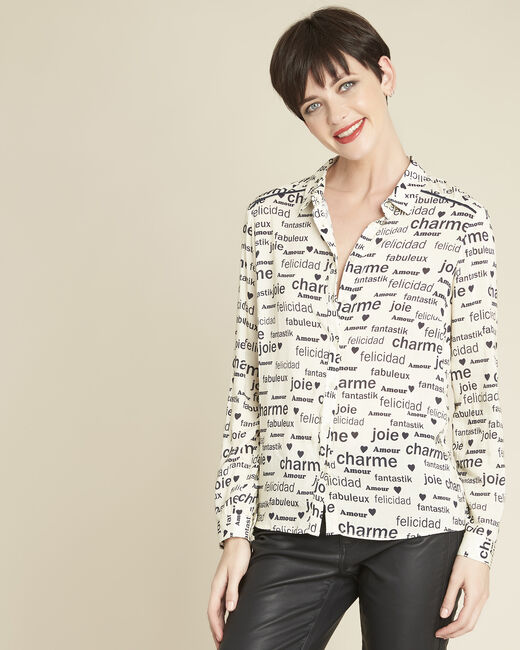 Ravel white shirt with print (2) - 1-2-3