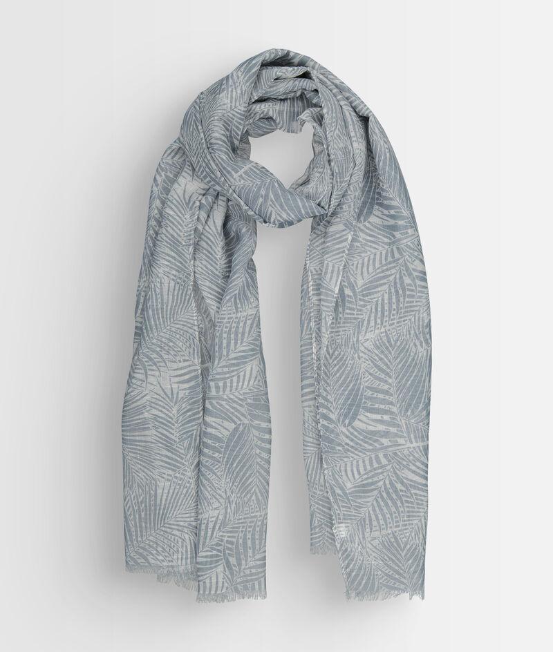 Foulard imprimé bleu pâle Paya PhotoZ | 1-2-3