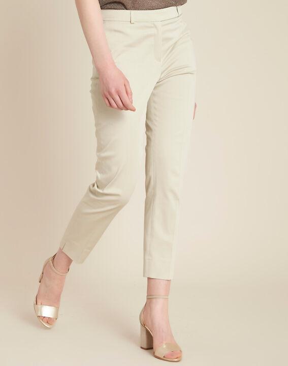 Pantalon beige 7/8ème Rubis (3) - 1-2-3