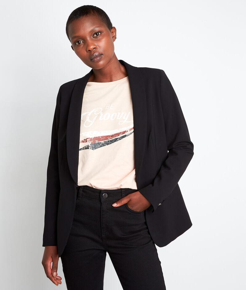 Zwarte getailleerde blazer Reine PhotoZ | 1-2-3