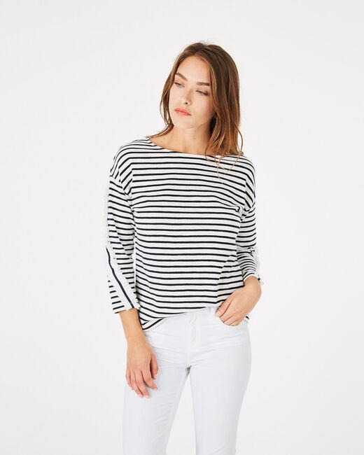 Tee-shirt rayé en coton Babord (2) - 1-2-3