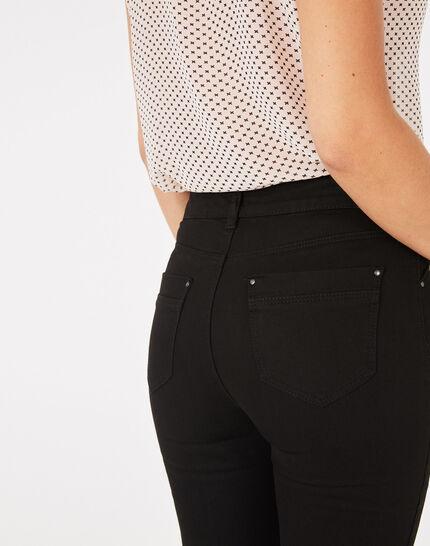 Oliver 7/8th length black jeans (5) - 1-2-3