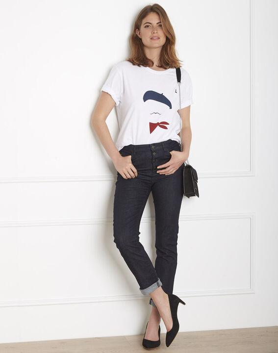 Tee-shirt écru imprimé Palo Maison FT (1) - Maison 123