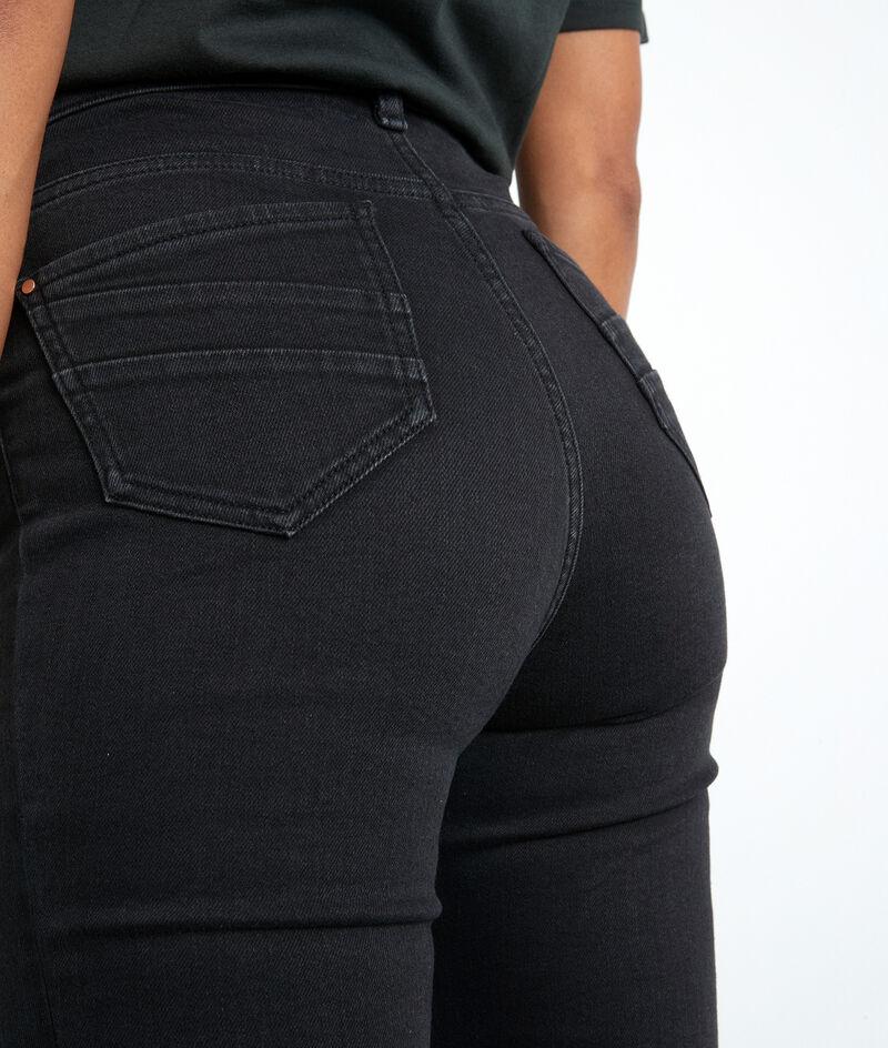 Jean slim en coton organique et recyclé noir Suzy PhotoZ   1-2-3