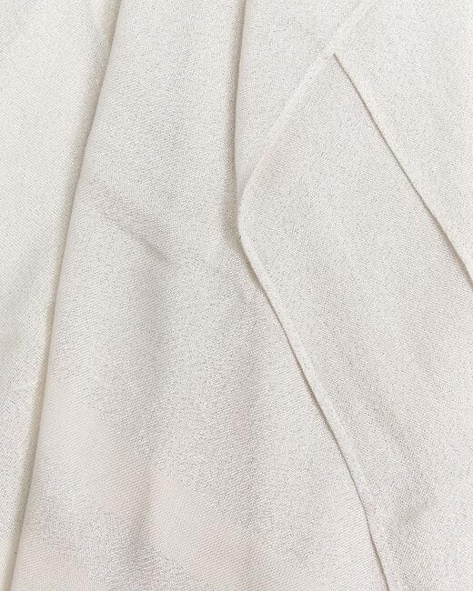 Foulard nude à rayures en lurex Fortune (1) - 1-2-3