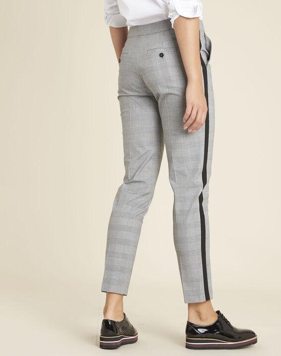 pantalon gris motif prince de galles home 123. Black Bedroom Furniture Sets. Home Design Ideas