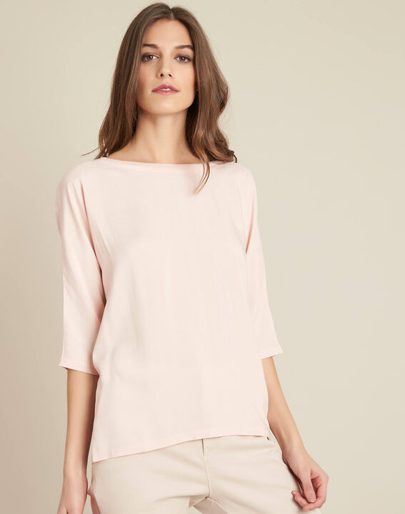 Guillem nude blouse with bow at the back (3) - 1-2-3