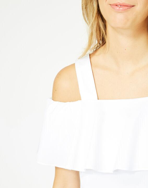 Top blanc épaules dénudées Emerine (4) - 1-2-3