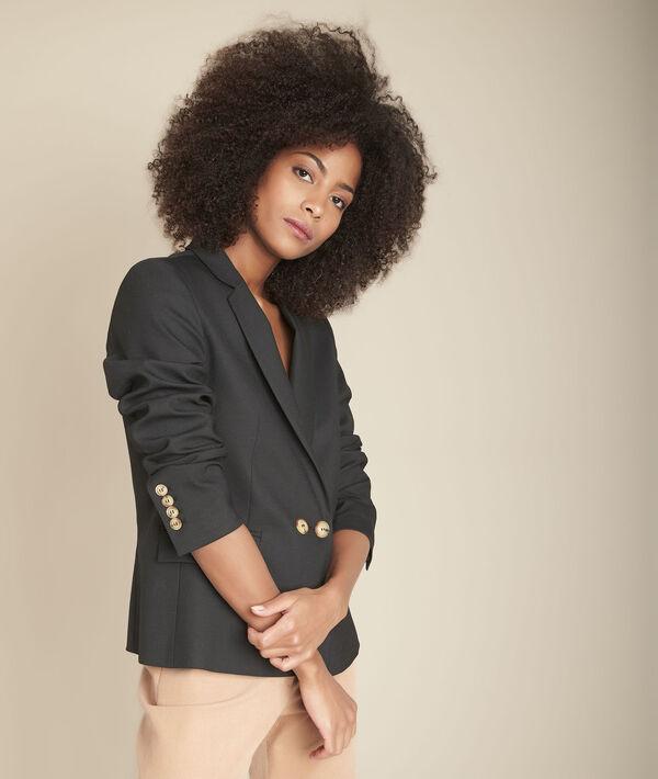 Veste tailleur noir Bali PhotoZ | 1-2-3