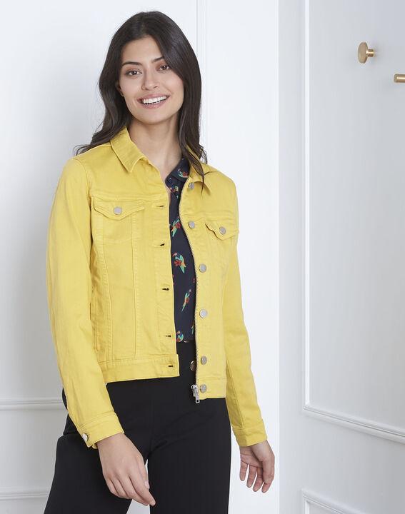 Veste jaune en jean Clem (2) - Maison 123