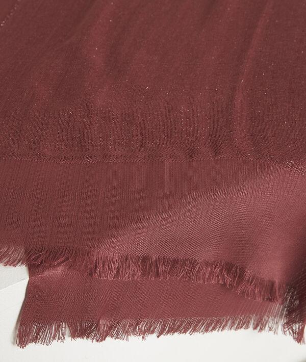 Foulard rose métallisé New Osiris PhotoZ | 1-2-3