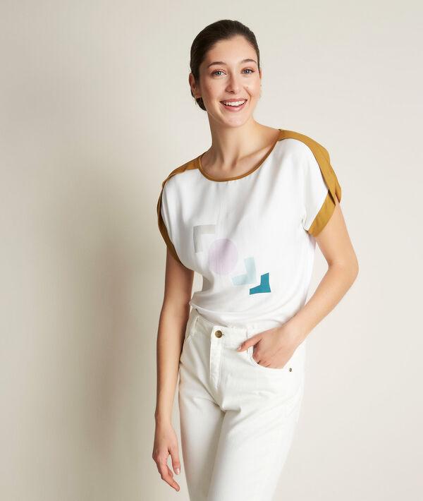 Tee-shirt imprimé Radieuse PhotoZ | 1-2-3