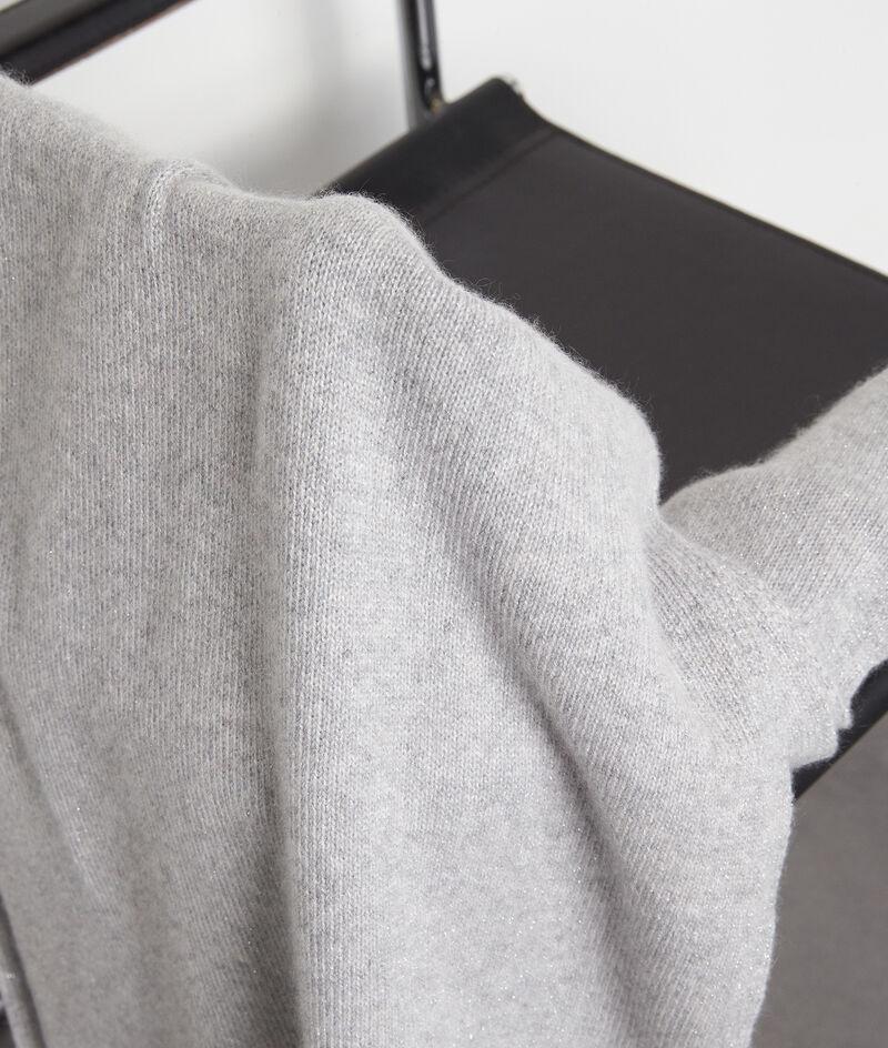 Echarpe en cachemire gris clair Piper PhotoZ | 1-2-3