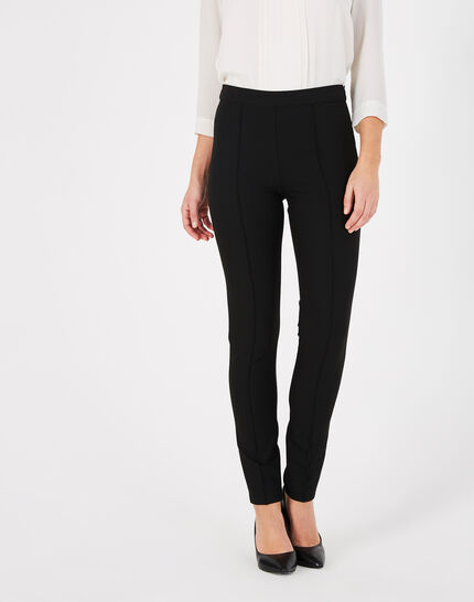 Vitamine tapered tailored black trousers (3) - 1-2-3