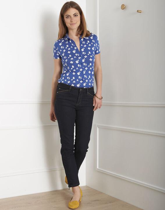 Opéra 7/8 length black slim-cut jeans with zip detailing (2) - 1-2-3
