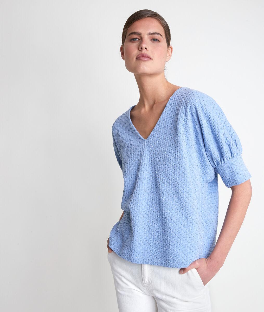 Tee-shirt bleu ciel Idouceur  PhotoZ | 1-2-3