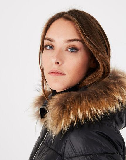 Louna long black puffer jacket (3) - 1-2-3