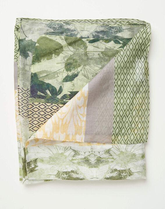 Foulard imprimé fleuri et motifs géométriques Adonis PhotoZ | 1-2-3