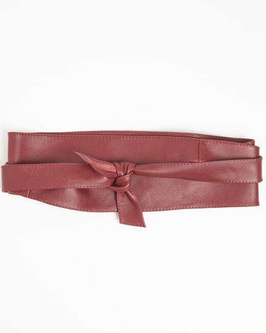 Ceinture large rubis en cuir Raul (1) - 1-2-3