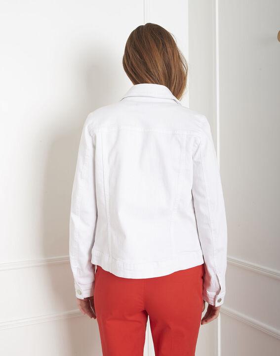 Veste en jean blanche Clem (5) - Maison 123