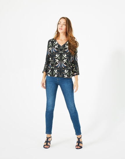 Tee-shirt imprimé floral Begonia PhotoZ | 1-2-3