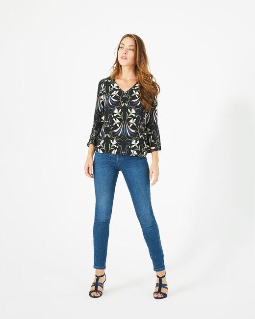 Tee-shirt imprimé floral Begonia (1) - 1-2-3
