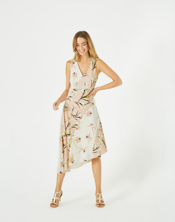 Beverly mid-length printed dress PhotoZ | 1-2-3