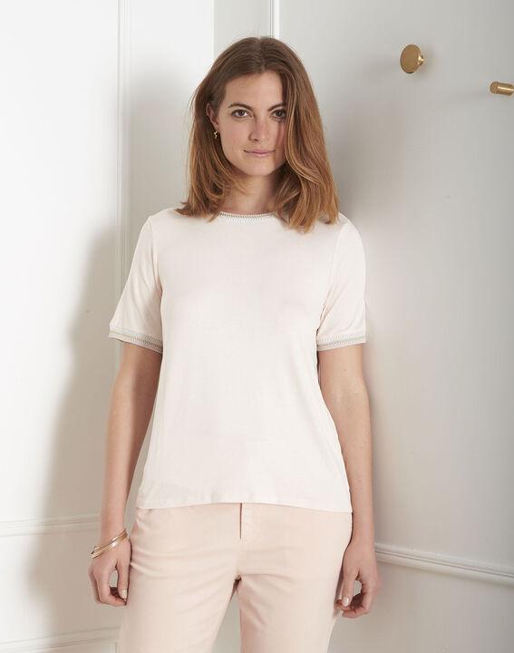 Tee-shirt poudre détails ruban Proove (2) - Maison 123