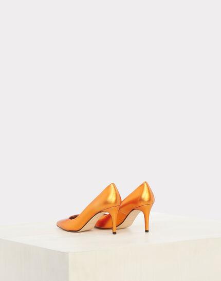 Nastasia orange heels with pointed toe (3) - 1-2-3