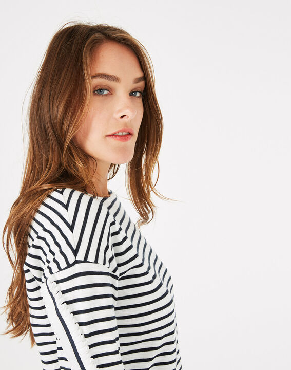 Babord striped cotton T-shirt (2) - 1-2-3