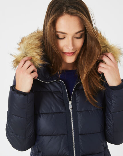 Lena bis short midnight blue puffer jacket (3) - 1-2-3