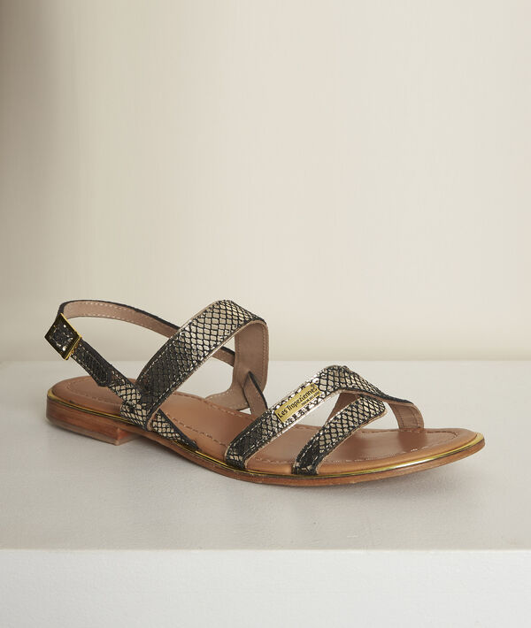 Sandales en cuir python Jodie Les Tropéziennes PhotoZ | 1-2-3