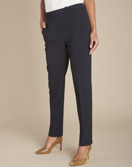 Lara blue tailored trousers (1) - 1-2-3