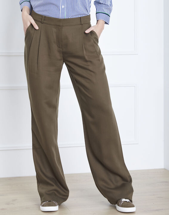 Pantalon kaki large Giovanna PhotoZ | 1-2-3