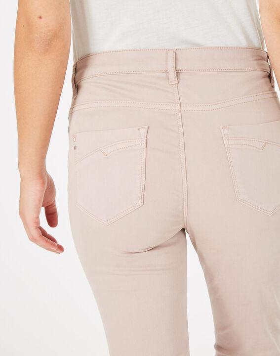 Pantalon slim rose pâle William (4) - 1-2-3