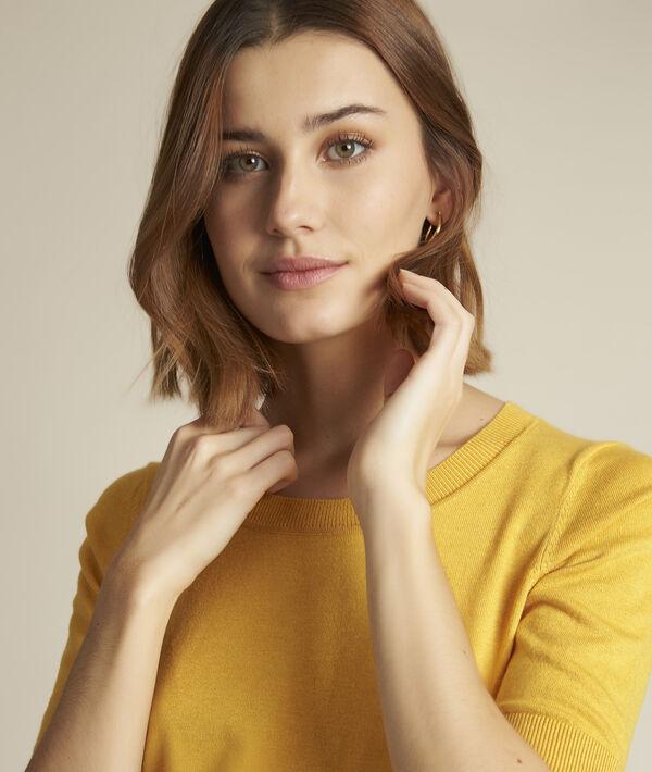 Pull jaune Diapason PhotoZ | 1-2-3