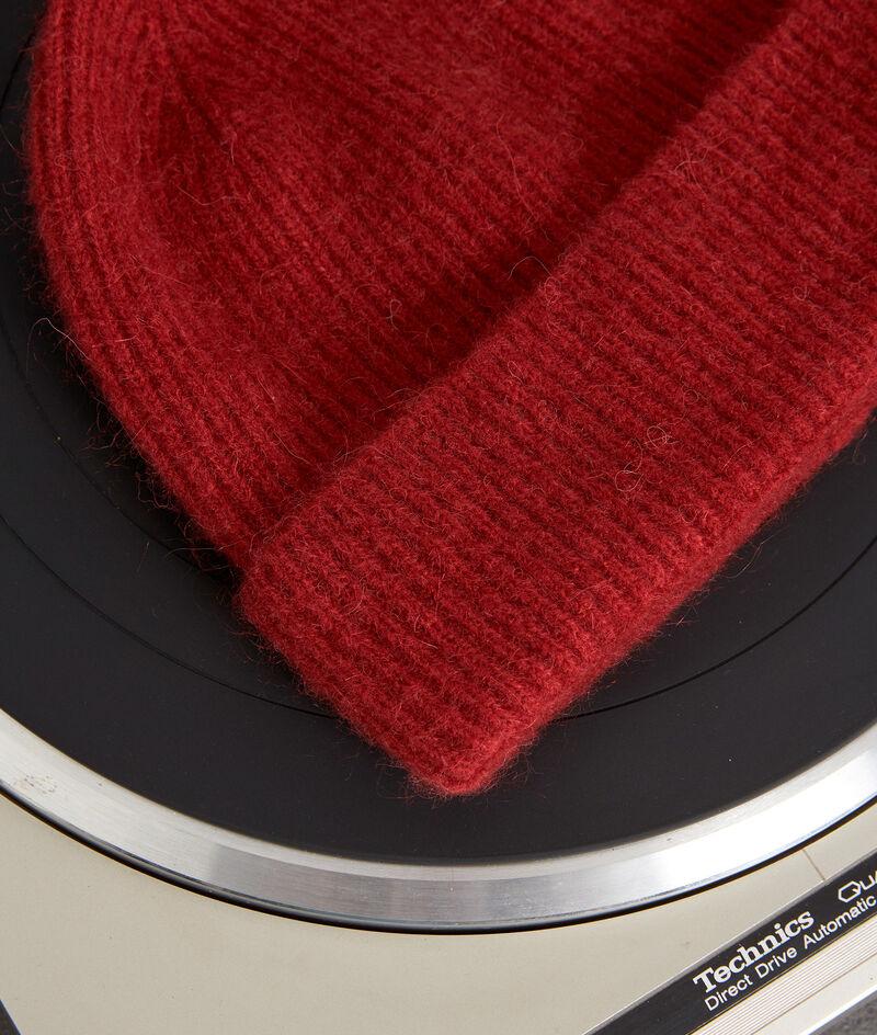 Bonnet doux en laine et mohair brique Irene PhotoZ | 1-2-3