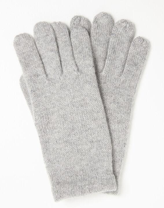 Grijze handschoenen van kasjmier Ustavio (1) - Maison 123
