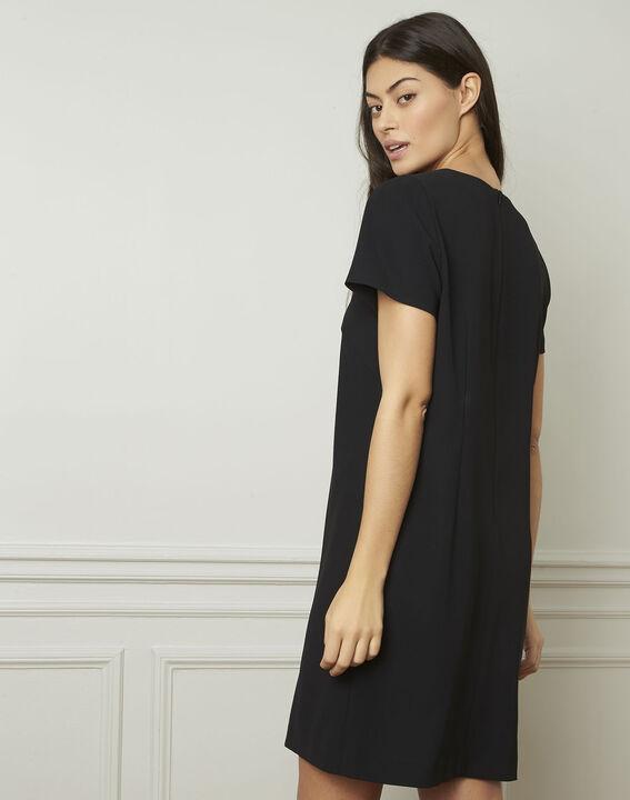 Zwarte jurk met sieraad Noel (3) - Maison 123