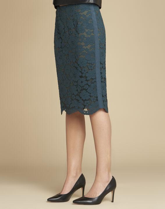 Kelly pointed black leather heels (3) - 1-2-3