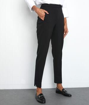 Geklede zwarte broek Lara