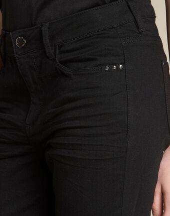 Schwarze 7/8-slim-fit-jeans vendome schwarz.